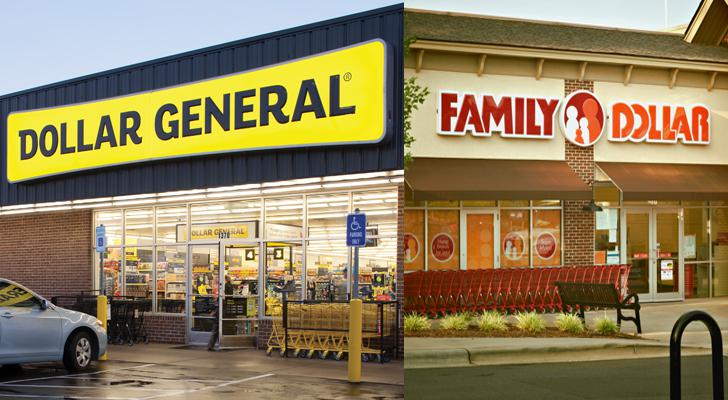 Dollar General Family Dollar Store Fronts